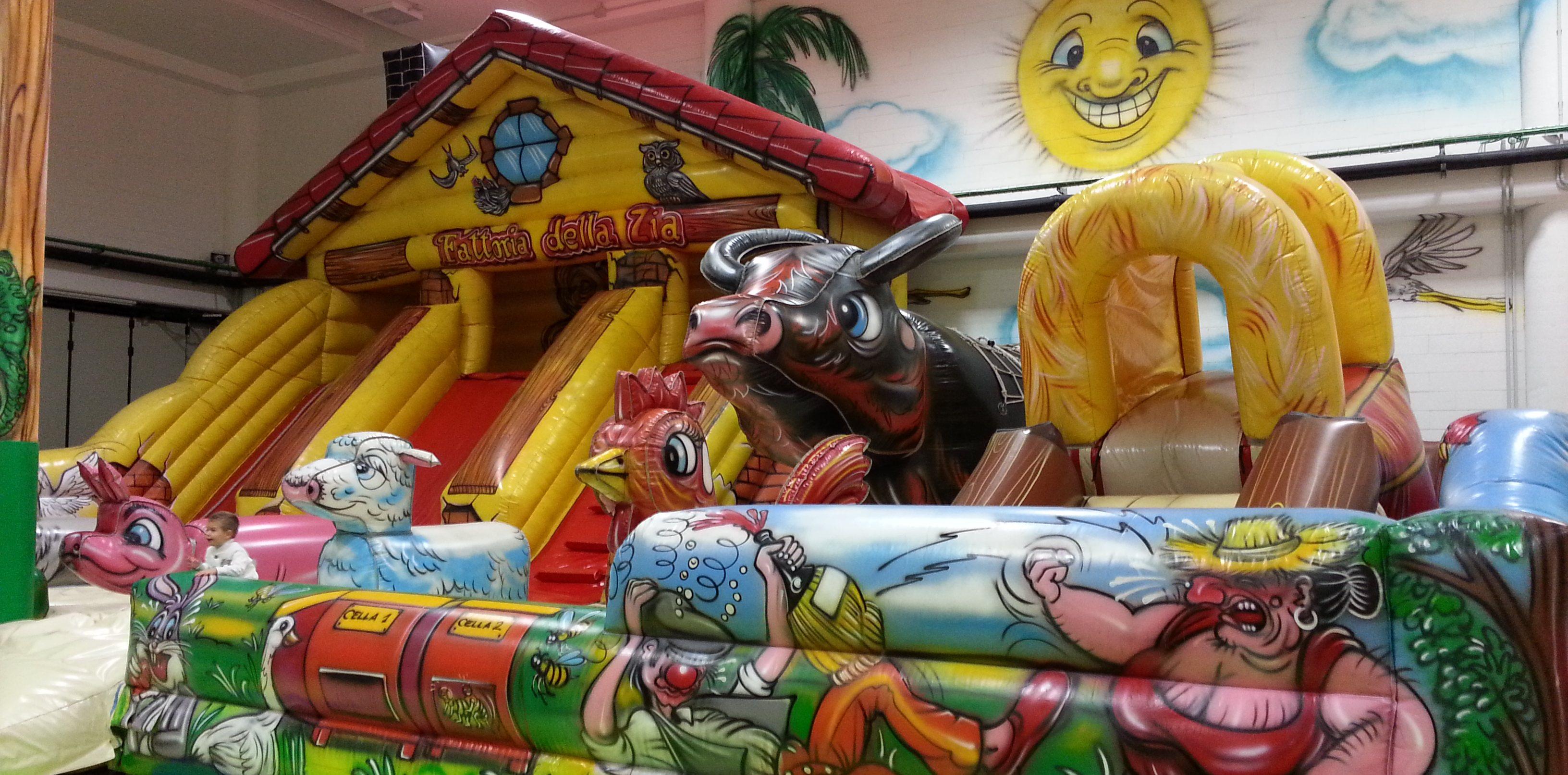 L'Arca Di Noè Park - Pistoia, Giochi gonfiabili e pizzeria per bambini
